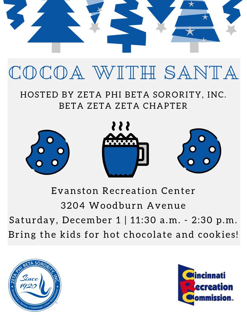 cocoa with santa 2018